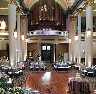 Pittsburghs Grand Hall At The Priory Pittsburgh Wedding Facility